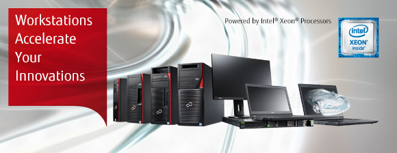 FUJITSU CELSIUS mobile, desktop and rack workstations