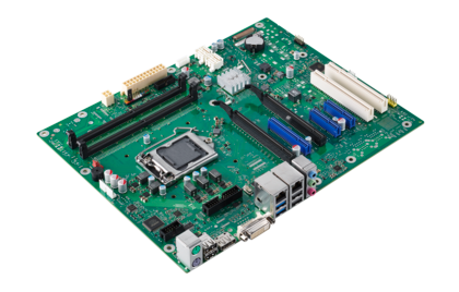 Mainboard D3445-S - side view