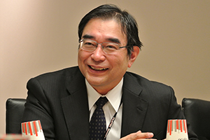 Picture: Masami Fujita, Corporate Senior Executive Vice President and Representative Director