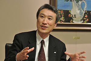 Picture: Hiroyasu Takeda, Corporate Vice President and Head of Purchasing Unit