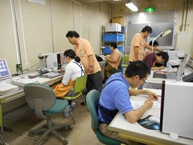 Picture: Work in progress at Fujitsu Harmony Limited
