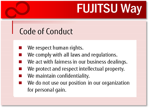Fujitsu Way Code of Conduct