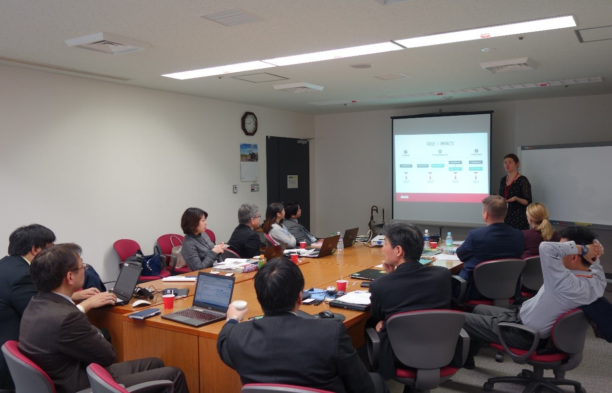 "Business and Human Rights"" workshop in Japan"