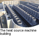 The heat source machine building