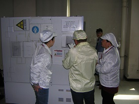 Picture: Supplier audit in progress