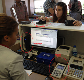 Field testing palm vein authentication in Turkey