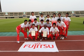 Picture: Fujitsu Track and Field Team