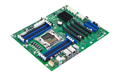Mainboard D3348 - side view