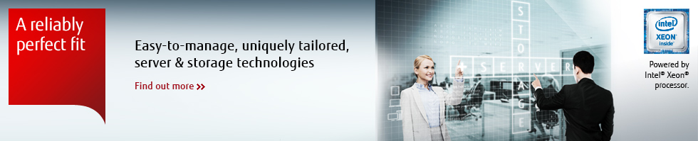 Easy to manage, uniquely tailored, server and storage technologies.