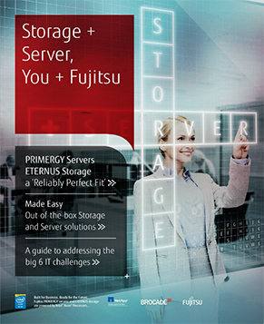 Storage + Server, You + Fujitsu