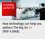 How technology can help you address The Big Six