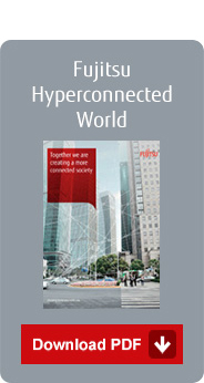 Fujitsu hyperconnected world - Download PDF brochure