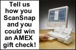 Tell Us How You ScanSnap and You Could Win $100!