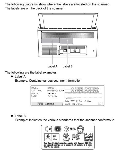 Fujitsu scanner fi-5120c
