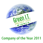 Green IT Awards Company of the Year 2011