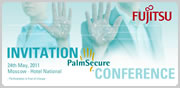 Join us at the PalmSecure Conference 2011, Moscow