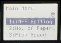 fi-6400 on screen menu