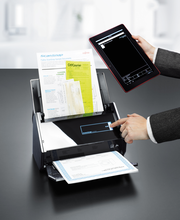Scan to tablet with ScanSnap iX500