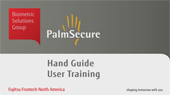 PalmSecure Hand Placement Guide