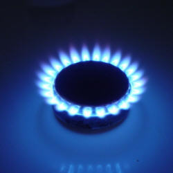 Photograph of a gas ring