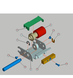 Figure 2. An exploded view image