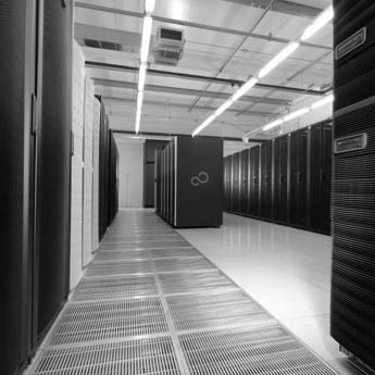 Photograph of data centre