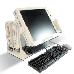 Photograph of Fujitsu PC provided for NavyStar project