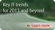 Key IT trends for 2013 and beyond Leam more