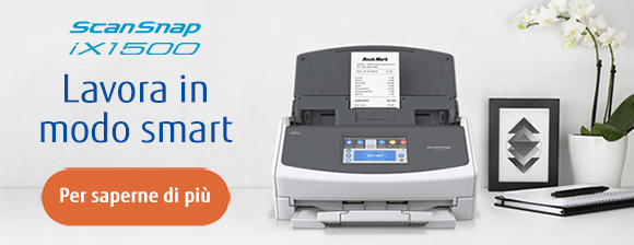 Nuovo ScanSnap iX1500