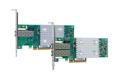QLE2690 single port / QLE2692 dual port 16 Gbit PCIe 3.0 Host Bus Adapters