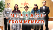 MESSAGE FROM MEMBER