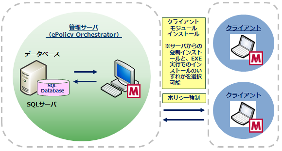 McAfee Complete Data Protection(ePolicy Orchestrator統合版)