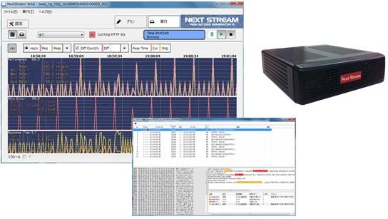Webサーバ評価システム「NXS-WAG/G」販売開始