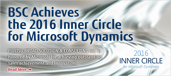 BSC Achieves the 2016 Inner Circle for Microsoft Dynamics