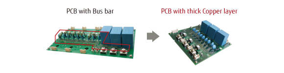 Improve trace flexibility with Embedded Bus Bar