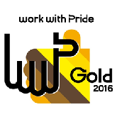 work with Pride ゴールド