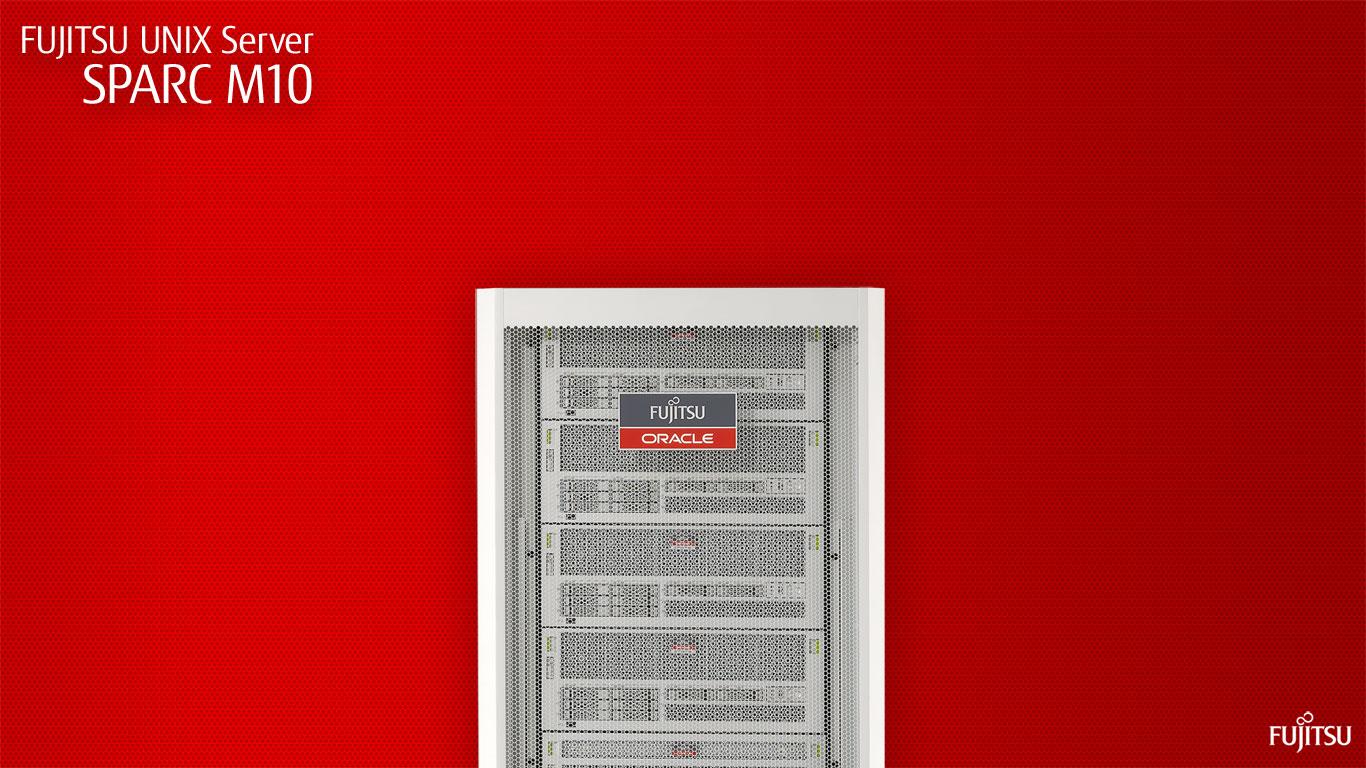 Unixサーバ Sparc Servers イメージライブラリ 壁紙 富士通