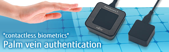 """contactless biometrics"" Palm vein authentication"