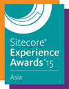 Sitecore Experience Awards15ロゴ
