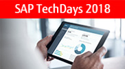 SAP Tech Days 2018