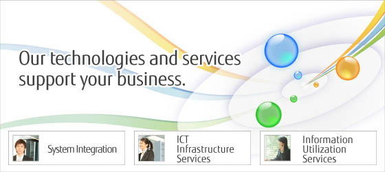 Our technologies and services support your business.