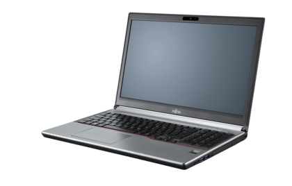 LIFEBOOK E753 - right side, with reflection