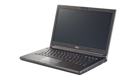 LIFEBOOK E544 - left side, with reflection