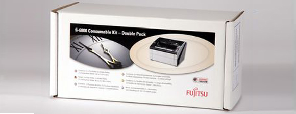 fi-6800 / fi-6400 consumable kit double pack from Fujitsu