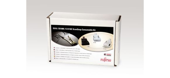 S510 / S510M / fi-5110C ScanSnap Consumable Kit from Fujitsu