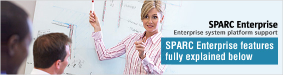 Technology in dept : SPARC Enterprise features fully explained below.