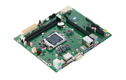 Mainboard D3410-B - side view