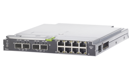 BX900 Ethernet switch IBP 1Gb 36/12 - right side