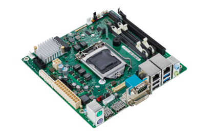 Mainboard D3434-S - side view