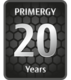 PRIMERGY 20years Badge
